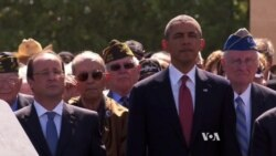 Obama Honors D-Day Sacrifices