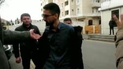 Keçmiş siyasi məhbus Qiyas İbrahimov polis idarəsinə gedir