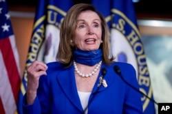 미국 민주당 소속인 낸시 펠로시 하원의장.