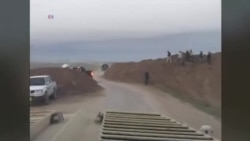 حملۀ جنگندههای ائتلاف بهرهبری آمريکا بر مواضع داعش در عراق و سوريه