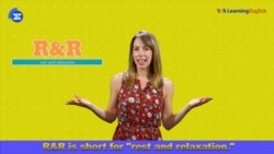 English in a Minute: R&R