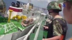 Trung Quốc nói sẽ không đưa tàu chiến ra bảo vệ giàn khoan