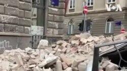 克罗地亚发生地震