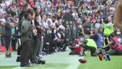 当国歌响起:美国一些橄榄球运动员和川普之争