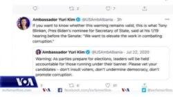 Ambasadorja Kim kërkon heqjen e të korruptuarve nga kandidimet për zgjedhje