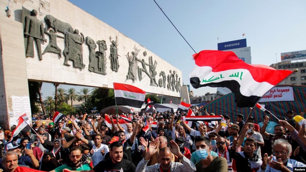 Protesta në Bagdat