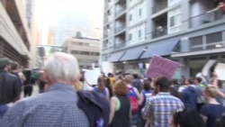 On the Scene: Baltimore Protest March