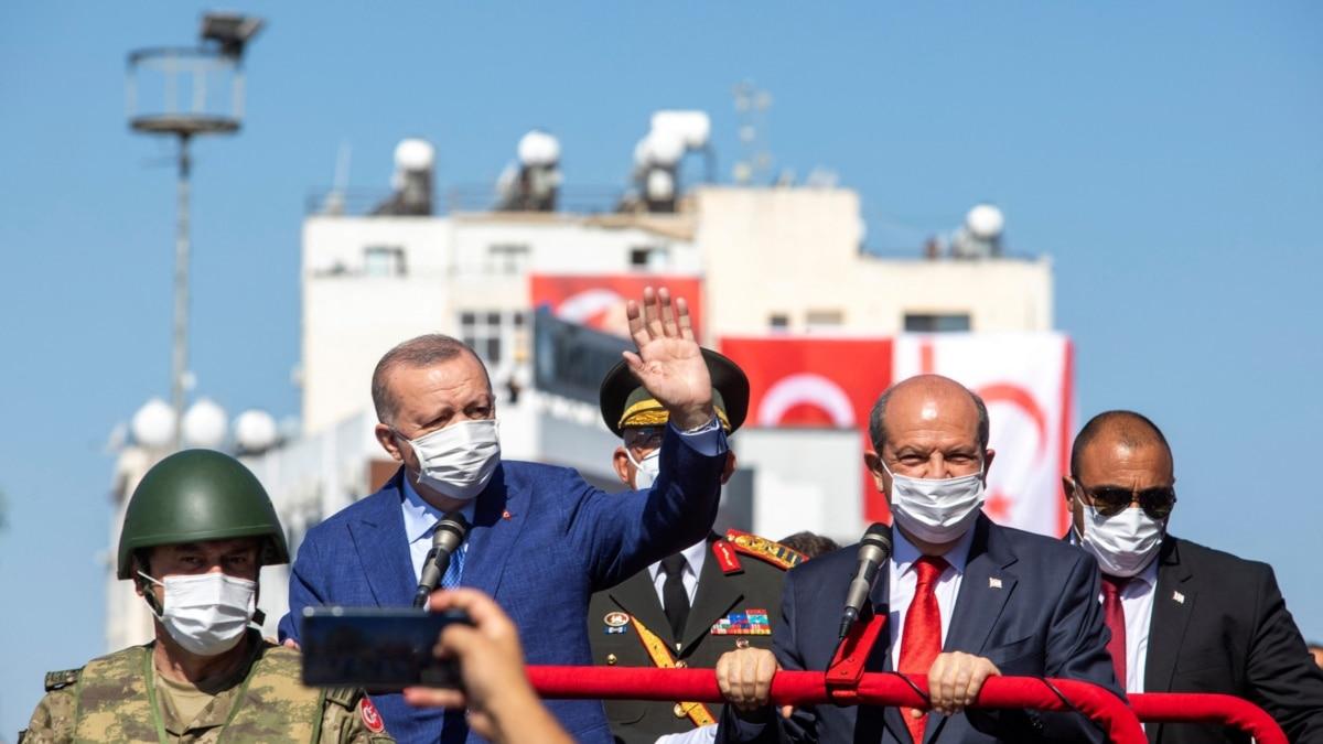 Presiden Turki Ungkapkan Sikap Garis Keras pada Peringatan Invasi Siprus