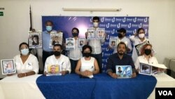 Familiares de presos políticos y Unidad Nacional exigen su libertad a tres años de crisis. [Foto: Daliana Ocaña]