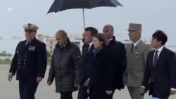 Les otages français rencontrent le président Macron