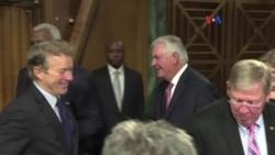 Tillerson cuestionado por nexos con Rusia
