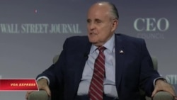 Ông Giuliani, ứng viên sáng giá cho chức Ngoại trưởng