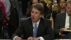 美國參議院週五繼續舉行卡瓦諾確認聽證會 (粵語)