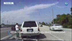Trafik Kazasından Kıl Payı Kurtuldular