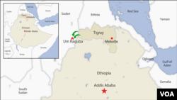 Tigray-Ethiopia Map