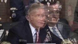 格雷厄姆参议员与哈里斯上将问答原声视频 (美国国会视频)