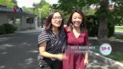 TV SHOW Perempuan SH+E Magazine: Suasana Gedung Putih & Intan Sahrini (2)