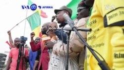 VOA60 AFIRKA: A Mali, Dubban Mutane Sun Yi Zanga -zanga A Bamako, Domin Marawa Sojoji Masu Mulkin Kasar Baya