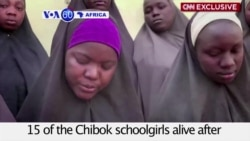 VOA60 Africa - New Video Shows 15 'Chibok Girls' But Parents Wary