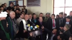 اشرف غنی احمد زی درروز انتخابات