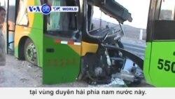 Peru: 2 xe buýt đâm nhau, hàng chục người chết và bị thương (VOA60)