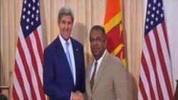 美國國務卿克里讚揚斯里蘭卡民主改革