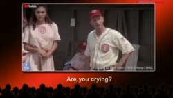 English @ the Movies: There's no crying in baseball