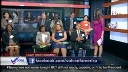 VOA's Post-Debate Diaspora Panel
