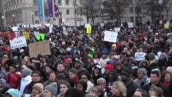 В Вашингтоне прошел марш против полицейского насилия