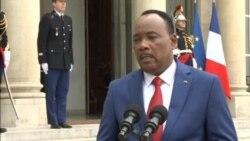 Mahamadou Issoufou a rencontré François Hollande pour parler de securité dans le Sahel