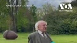 Як миле цуценя президента Ірландії захопило мережу. Відео