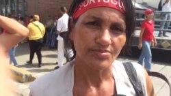 Chavistas salen a las calles para apoyar a Maduro