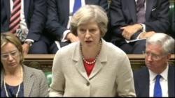 New British PM Theresa May Condemns Turkey Coup
