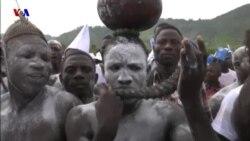 جشن و مراسم کشتی سنتی در توگو به نام ایوالا