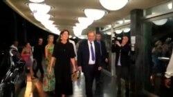 دیدار پرنسس کارولین موناکو از کوبا در طول جشنواره بین المللی تئاتر هاوانا