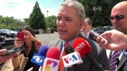 """La región tiene que unirse para acabar con la dictadura de Venezuela"""", presidente electo de Colombia"""