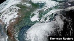 Satelitski snimak oluje Kristobal kod Meksičkog zaliva