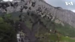 NO COMMENT - Շվեյցարիայի գյուղերից մեկում սողանքների հետևանքով ցեխային հրաբխի ժայթքում է տեղի ունեցել
