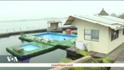 L'île flottante, un hôtel-restaurant monté par un Français à Abidjan