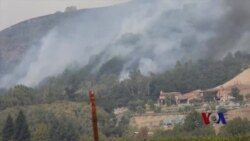 北加州居民返家面对野火劫后惨景