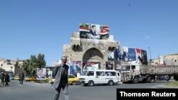 نمایی از دمشق، عکس از آرشیو