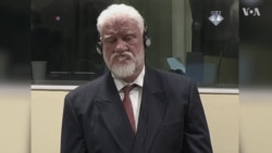 Slobodan Praljak Drinks Poison in Hague Courtroom