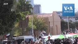 Afrique du Sud: manifestations en soutien aux Palestiniens