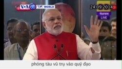 Ấn Độ là nước đầu tiên phóng tàu vũ trụ vào quỹ đạo quanh sao Hỏa (VOA60)