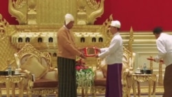 Myanmar Swears In Civilian Head of State