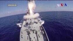 Rusya Akdeniz'den IŞİD'i Vurdu