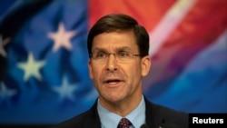 ABŞ müdafiə naziri Mark Esper