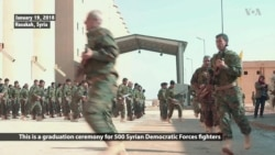 New Batch of US-backed Forces Graduate Border Protection Training in Northern Syria