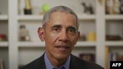 바락 오바마 전 미국 대통령이 14일 2020년 민주당 대선 후보로 출마한 조 바이든 전 부통령에 대한 지지를 밝혔다.