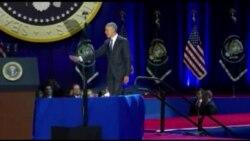 """""""Yes we did"""": le discours d'adieu du président Obama (vidéo)"""
